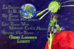 Green Lantern Motto Poster
