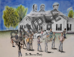 Reeves Family Print