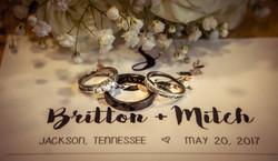 Britton + Mitch Wedding Program
