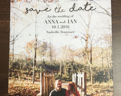 custom save-the-date