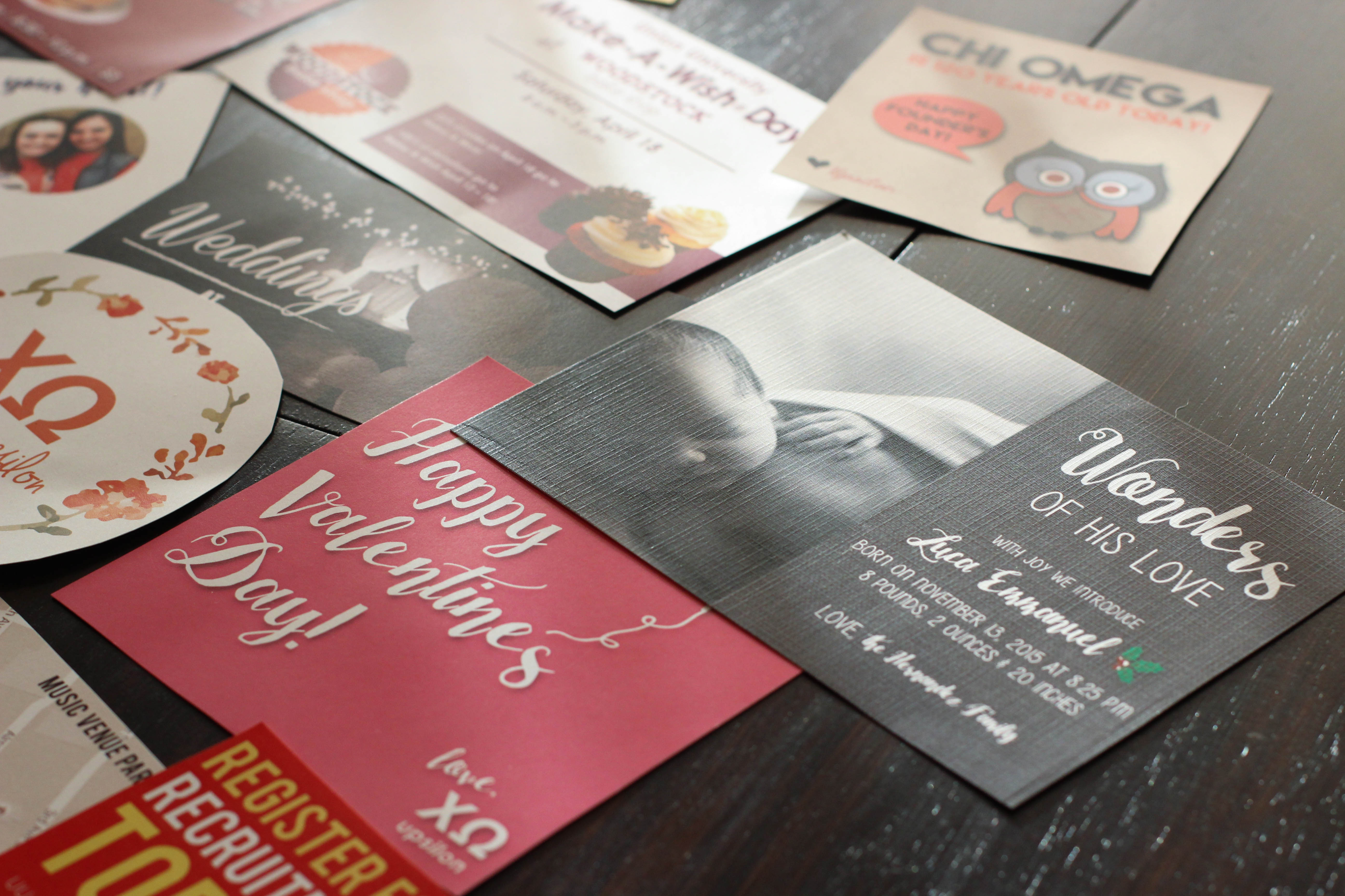birth announcements & holiday cards
