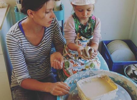 Familiehelg i Keramikkverkstedet