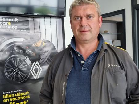 """Stéphane RAULT soutient """"Fiers d'être Artisans""""                         Garage RENAULT à Uzel (22)"""