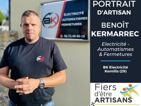 Benoît KERMARREC - Electricien à Kernilis (29)