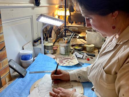 Marie-Astrid LEDUCQUE - Artisan d'Art peintre en décors - Fougères
