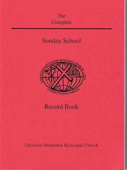 Sunday School Record Book