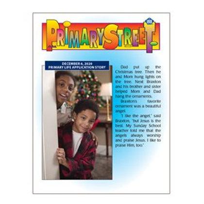Primary Street Student