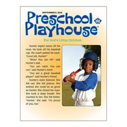Preschool Playhouse Student