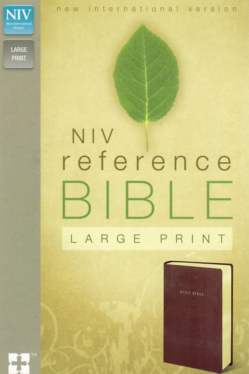 NIV Reference Bible Large Print