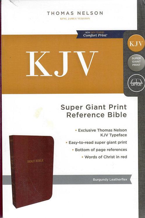 KJV Super Giant Reference Bible