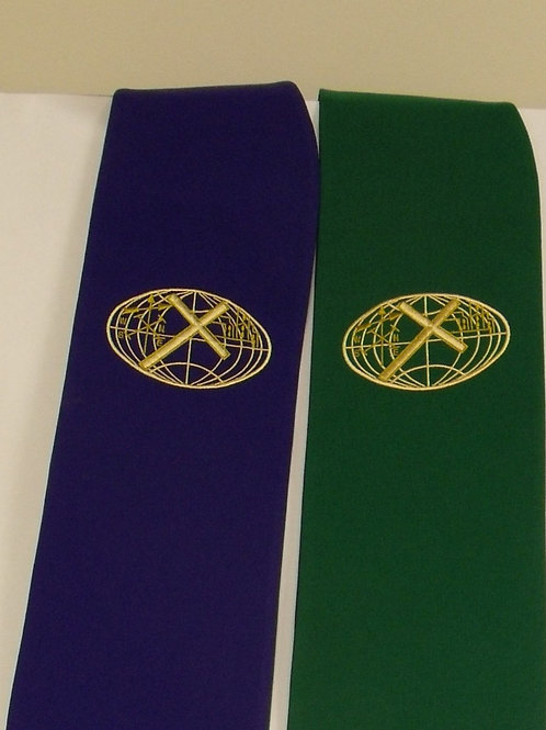 Reversible Clergy Stole With CME Logo