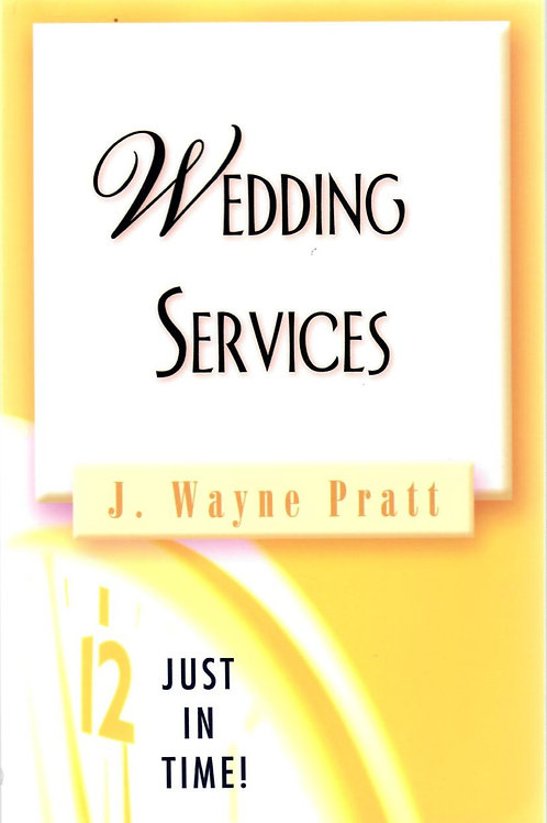 Wedding Services by J Wayne Pratt