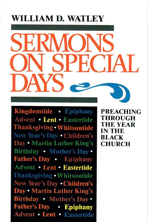 Sermons on Special Days