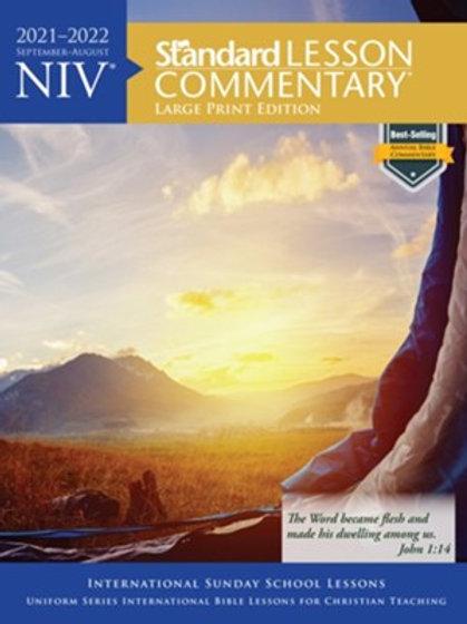 2021-22 Standard Lesson Commentary NIV Large Print