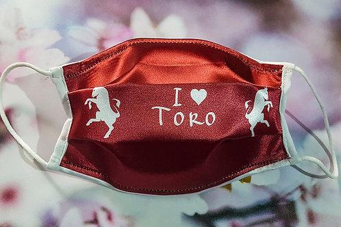 "Mascherina ""I love Toro"""