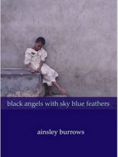 Black Angels with Sky Blue Feathers