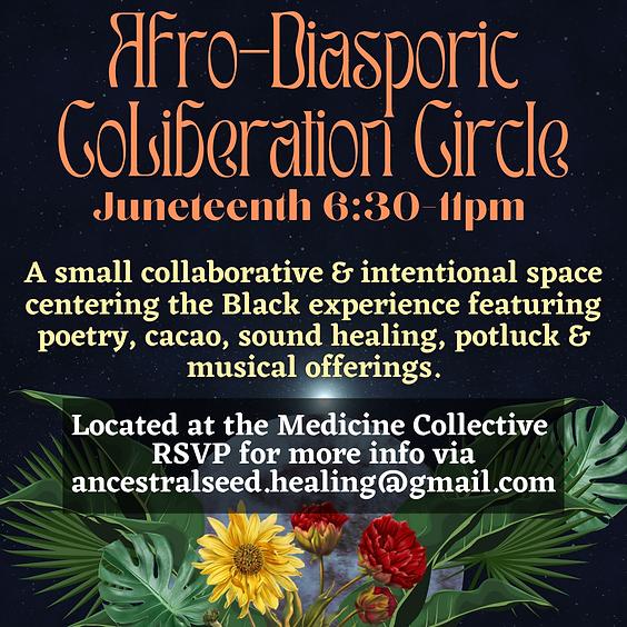 Juneteenth Afro-Diasporic Co-Liberation Circle