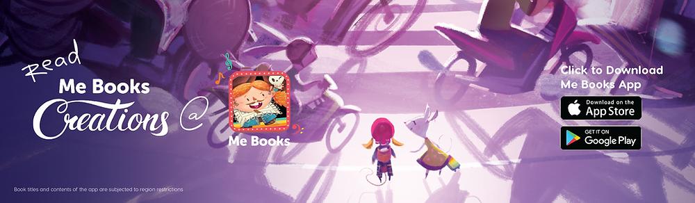 me books creations me books app