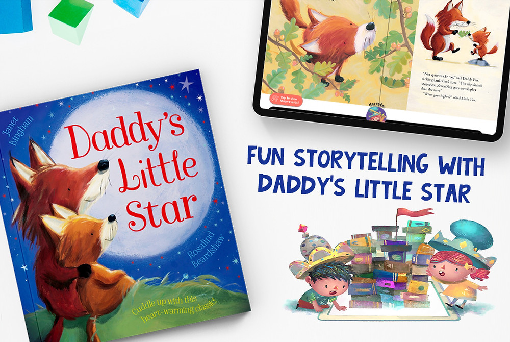 Daddy's little star storytelling guide resources