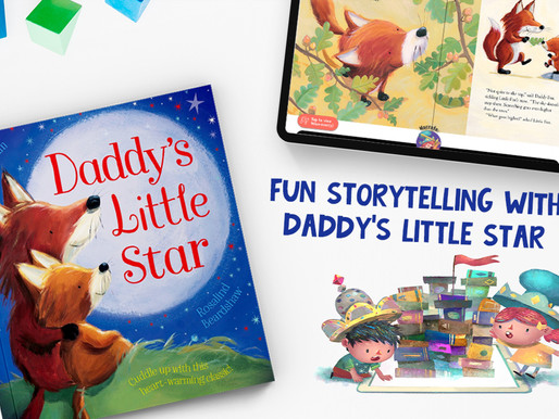 4 Bedtime Story Tips with 'Daddy's Little Star' by Janet Bingham and Rosalind Beardshaw