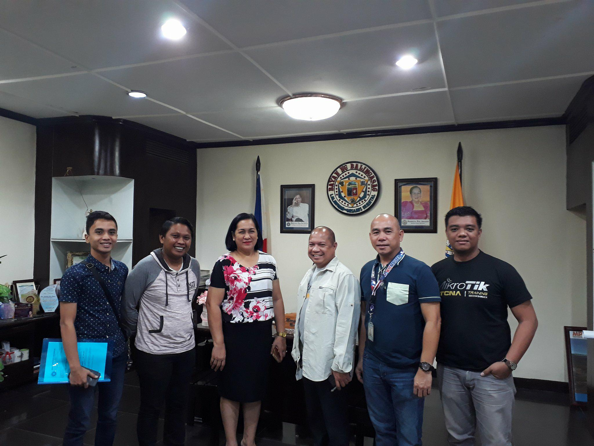 Meeting with Mayor of Balingasag