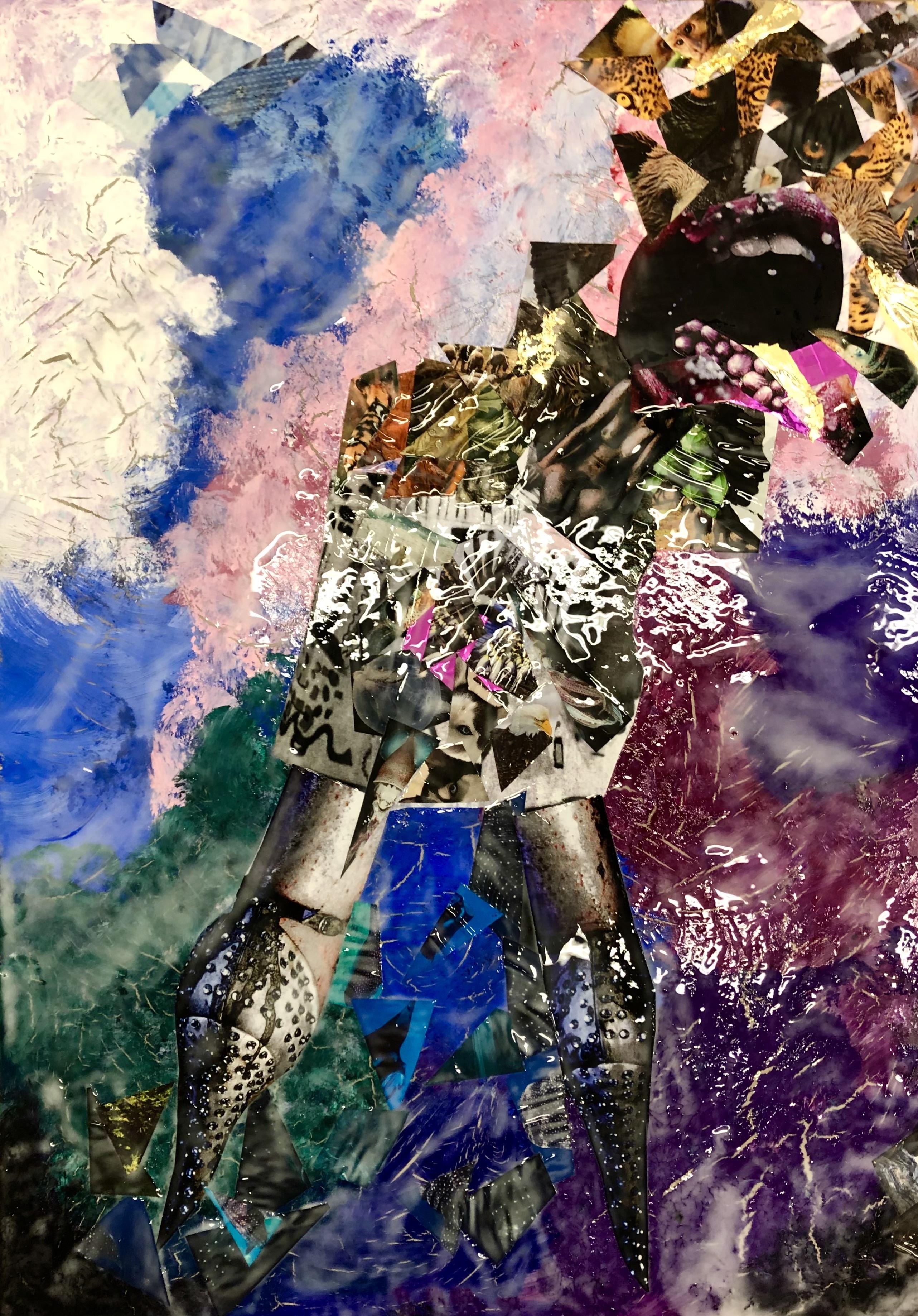 Abstract Animal Woman