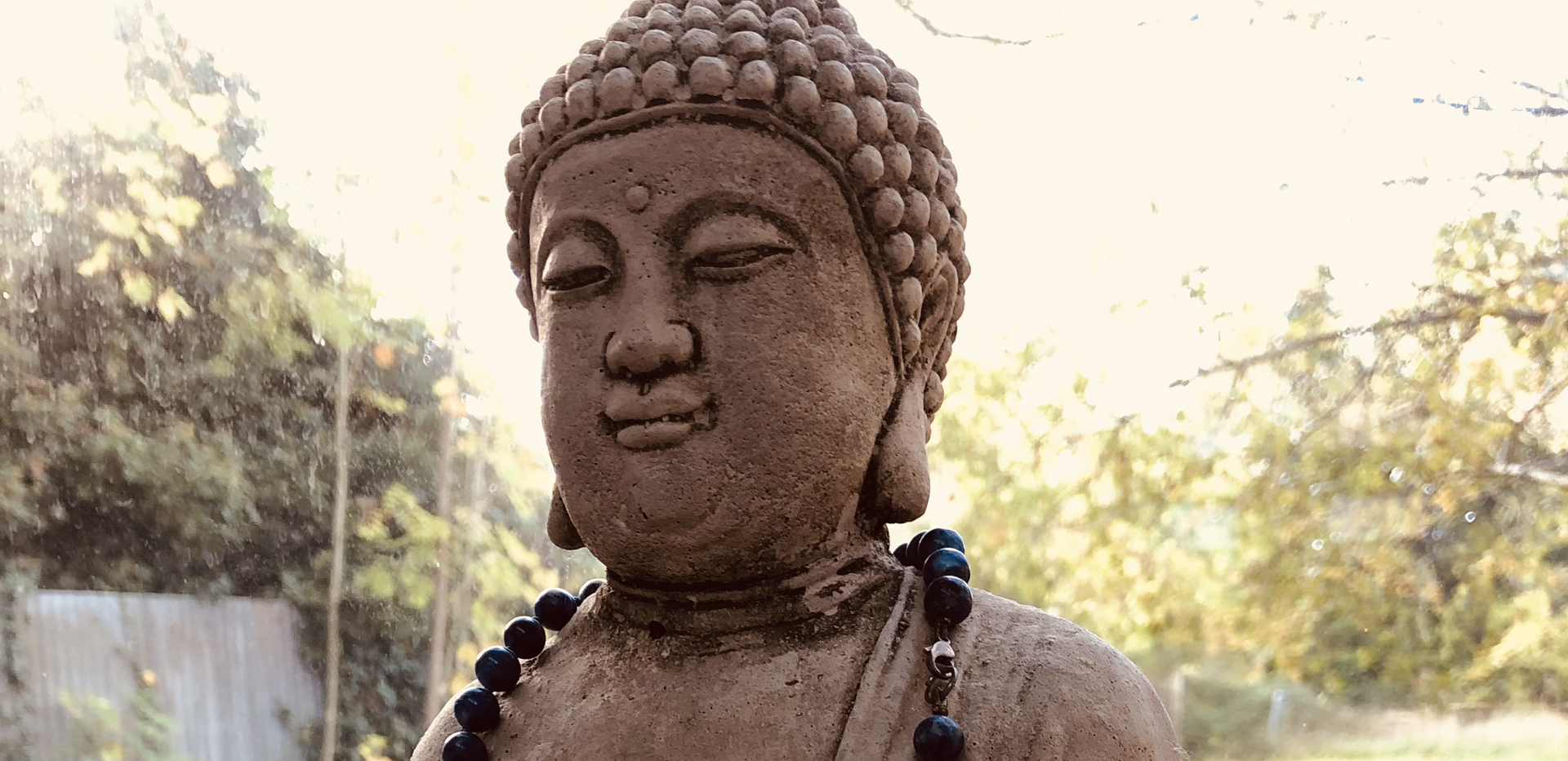 Peaceful Buddha at the Yoga Shed watching over you :)