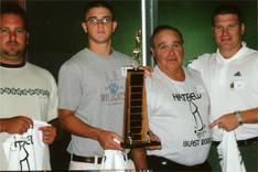 Steve Caudill, Cory, Paris, & Chris win
