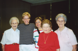 Jeanette, Shelley, Joy, Opal, Katherine.