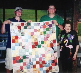 Ty, Trey, and Opal w England quilt adj.j