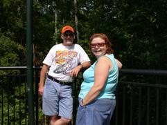 Bill and Sheryle @ pool.jpg