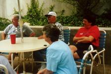 TJ, Robert, & Patsy at the pool.jpg