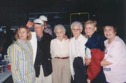 Joy, Ted, Jeanette, Katherine, Nina, Mar