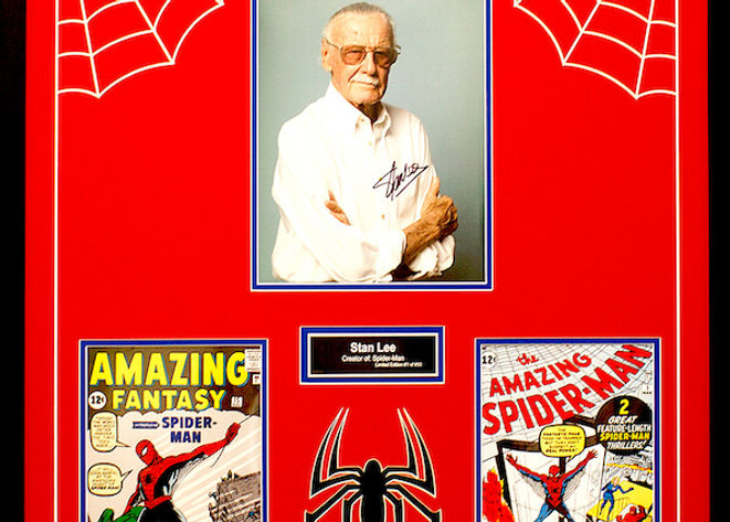 Stan Lee Spiderman 11x14 Limited Edition