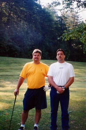 Gary Craig and Greg Morris golf.tif