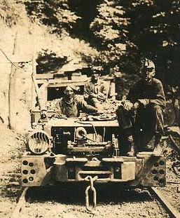 Earl (left) on man cart.jpg