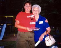 Debbie Coleman and Katherine @ auction.t