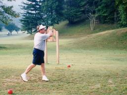 JB swings on golf course.tif