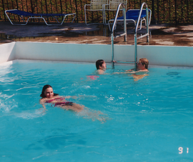 Sharon, Tyler, & Trey in pool.tif