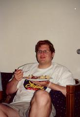 Trey & his food.tif