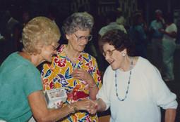 Josephine, Katherine, & Opal greet.jpg