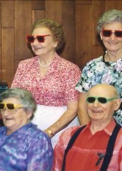 LeEttie, TC, Jeanette, Katherine in sung