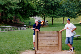 Ty & Cory play horseshoes.tif