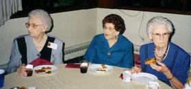 Aunts at table.TIF