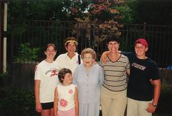 Laura, Denise, Esther, Opal, Barb & Samu