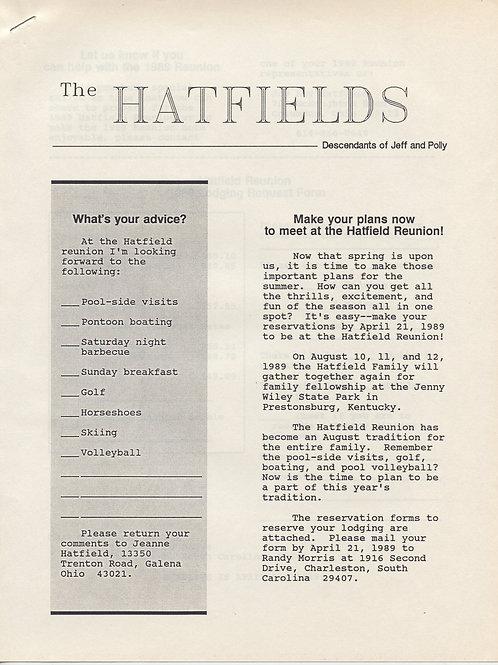 1989: The Hatfields