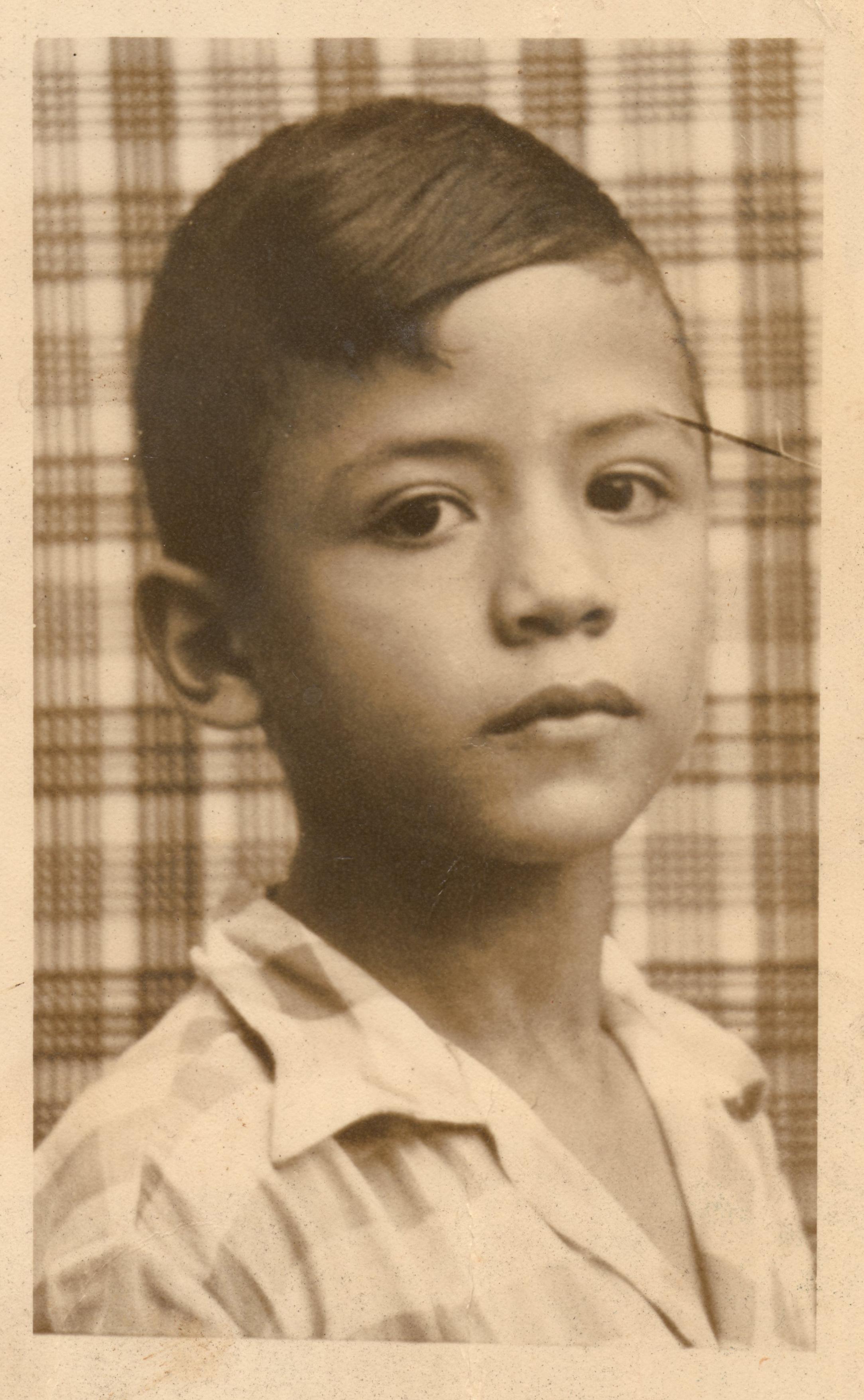 Salcedo Ramos de niño
