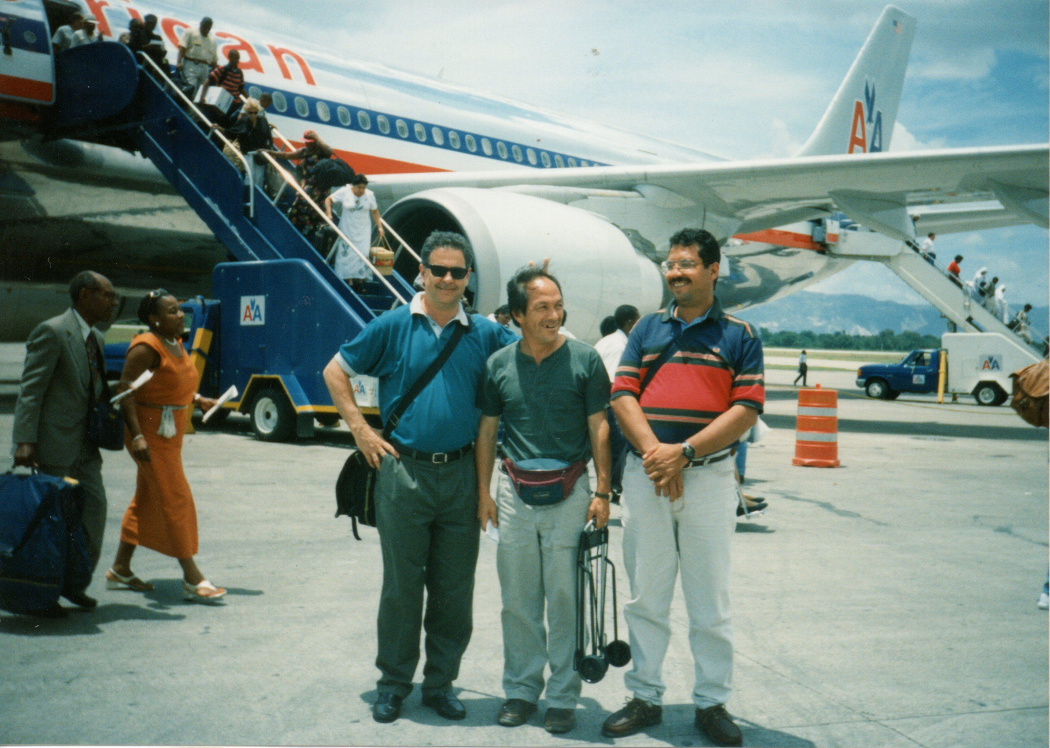 Con Alberto Amaya y Jorge Daza