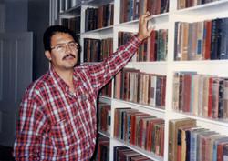 En la biblioteca de Ernest Hemingway