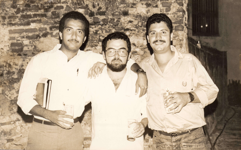 Edgardo Olier y Jorge García Usta